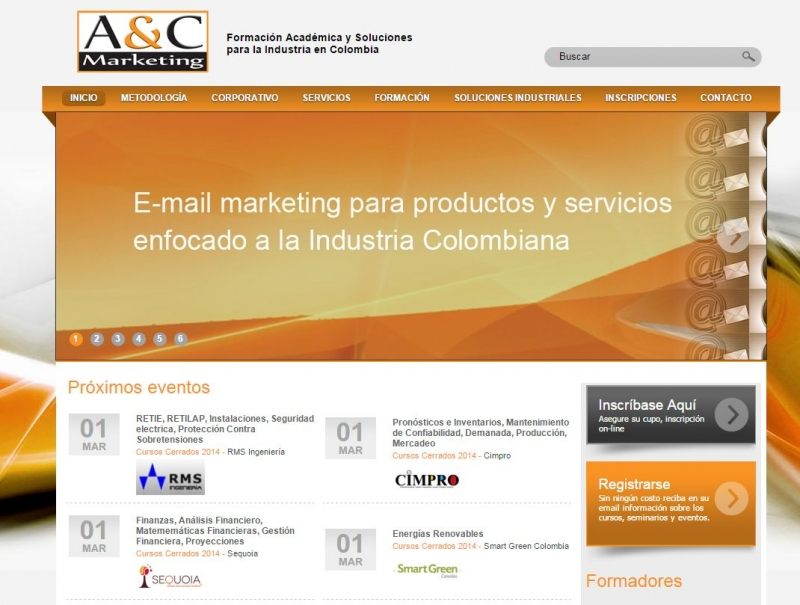 AyC Marketing Web by Zola