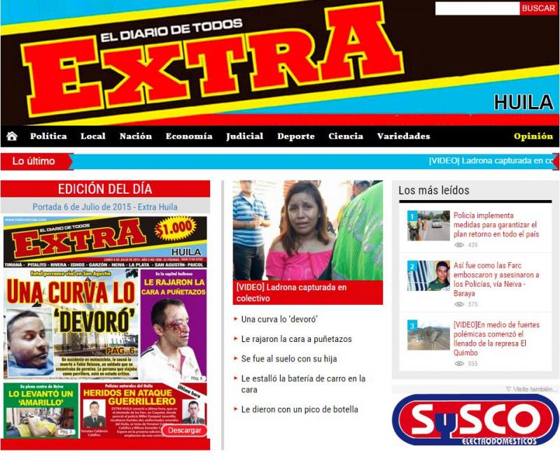 "Daily News ""Extra"" Websites"