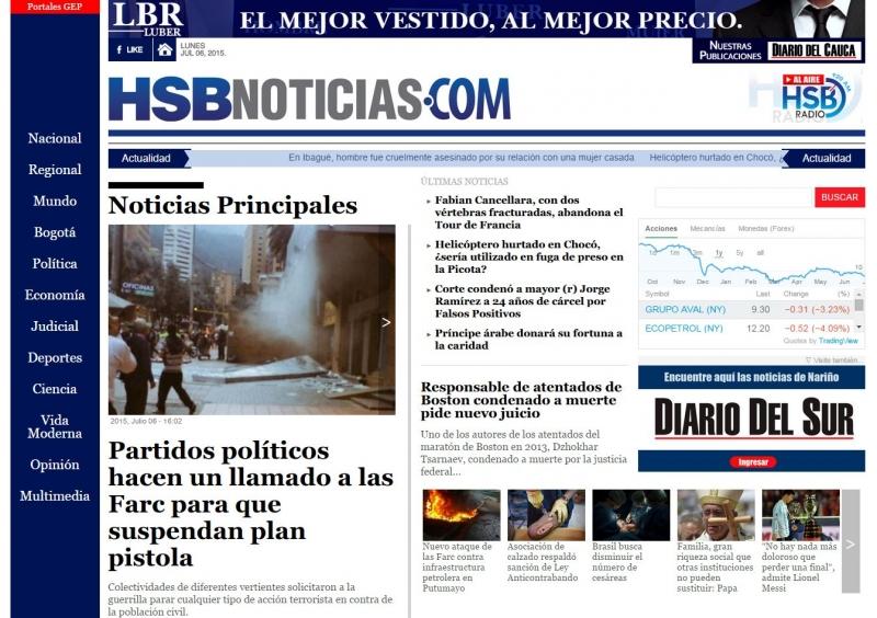 "[""HSB Noticias"" News Site"